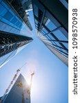 modern office buildings... | Shutterstock . vector #1098570938