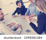 group of business people... | Shutterstock . vector #1098581384