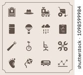 modern  simple vector icon set... | Shutterstock .eps vector #1098599984