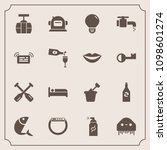 modern  simple vector icon set... | Shutterstock .eps vector #1098601274