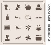modern  simple vector icon set... | Shutterstock .eps vector #1098604304