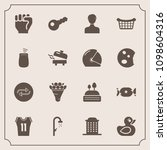 modern  simple vector icon set... | Shutterstock .eps vector #1098604316