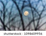 Moonrise At Peak Of Strip Hat   ...