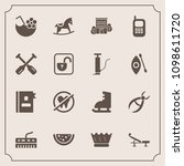 modern  simple vector icon set... | Shutterstock .eps vector #1098611720