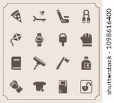 modern  simple vector icon set... | Shutterstock .eps vector #1098616400