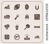 modern  simple vector icon set... | Shutterstock .eps vector #1098616520
