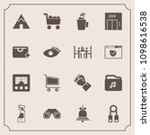 modern  simple vector icon set... | Shutterstock .eps vector #1098616538