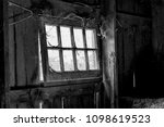Interior Old Barn Window With...