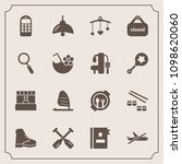 modern  simple vector icon set... | Shutterstock .eps vector #1098620060