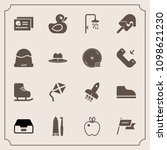 modern  simple vector icon set... | Shutterstock .eps vector #1098621230