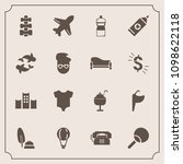 modern  simple vector icon set... | Shutterstock .eps vector #1098622118