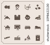 modern  simple vector icon set... | Shutterstock .eps vector #1098622130