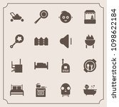 modern  simple vector icon set... | Shutterstock .eps vector #1098622184