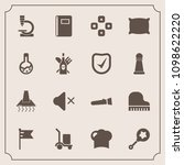 modern  simple vector icon set... | Shutterstock .eps vector #1098622220