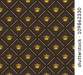 black seamless pattern with... | Shutterstock . vector #109862330