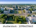 krakow  poland.  aerial... | Shutterstock . vector #1098635663