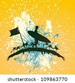 surf life | Shutterstock .eps vector #109863770