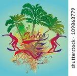 surf life | Shutterstock .eps vector #109863779