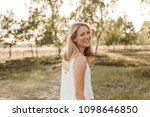 young  attractive and happy...   Shutterstock . vector #1098646850