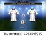 football cup 2018 group g ... | Shutterstock .eps vector #1098649790