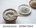 adaptogens ashwagandha in a... | Shutterstock . vector #1098671063