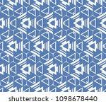decorative seamless geometric... | Shutterstock .eps vector #1098678440