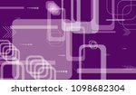 tech texture. colorful... | Shutterstock .eps vector #1098682304