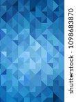 light blue verticallow poly...   Shutterstock . vector #1098683870