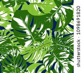 vector seamless pattern with... | Shutterstock .eps vector #1098691820