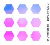 design hexagonal vector logo... | Shutterstock .eps vector #1098694310