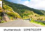 panoramic road in italy | Shutterstock . vector #1098702359