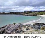 scottish highlands beach | Shutterstock . vector #1098702449