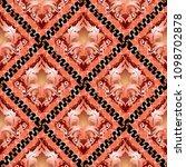 3d baroque seamless pattern.... | Shutterstock .eps vector #1098702878