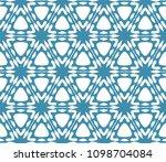 seamless simple geometric... | Shutterstock .eps vector #1098704084