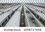 view of trains and rail yard...   Shutterstock . vector #1098717458