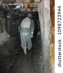 Small photo of My friend is exploring three hundred year old Bolivian mines.
