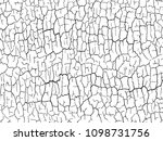 the cracks texture white and... | Shutterstock .eps vector #1098731756