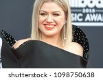 host kelly clarkson attends the ... | Shutterstock . vector #1098750638