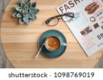 creative flat lay composition... | Shutterstock . vector #1098769019