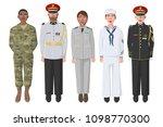 five american soldiers in...   Shutterstock . vector #1098770300