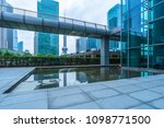 financial district of shanghai  ... | Shutterstock . vector #1098771500