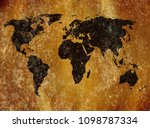 old map background | Shutterstock . vector #1098787334