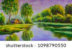 A Brown Old Wooden House On The ...