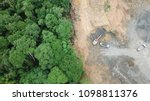 Deforestation Aerial Photo....