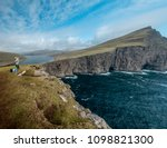 lake and sea in island north... | Shutterstock . vector #1098821300