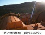 industrial rope access miner...   Shutterstock . vector #1098826910
