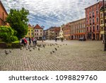 torun  poland   may 2  2018 ... | Shutterstock . vector #1098829760