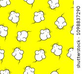 seamless pattern mouse   vector ... | Shutterstock .eps vector #1098837290