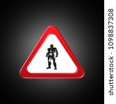 warrior, icon,sign,best 3D illustration