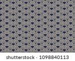 japanese wave pattern   Shutterstock .eps vector #1098840113
